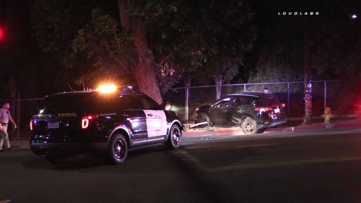 Sospechoso de robar un coche muere tras una persecución