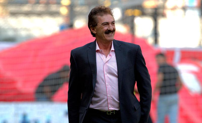 Ricardo La Volpe es presentado oficialmente como técnico del América