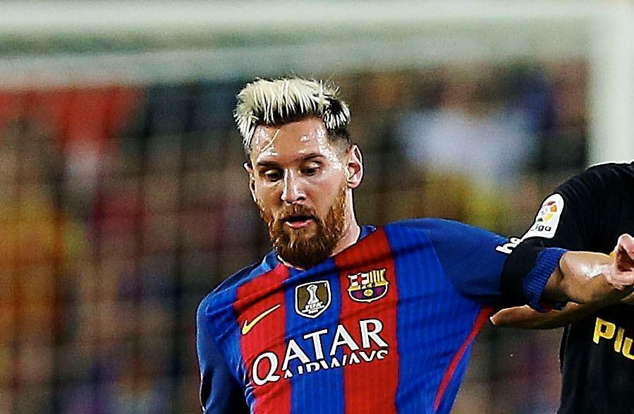 ¿Por qué la barba de Messi es roja, a pesar de que no se la tiñe?