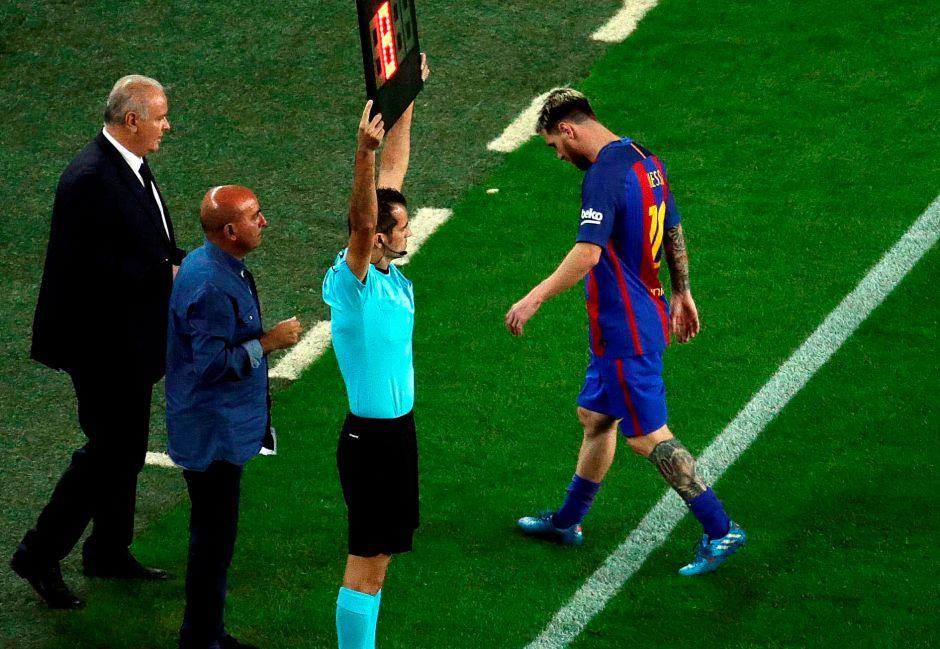 Barcelona 1-1 Atlético: Messi se fue lesionado y se encienden las alarmas