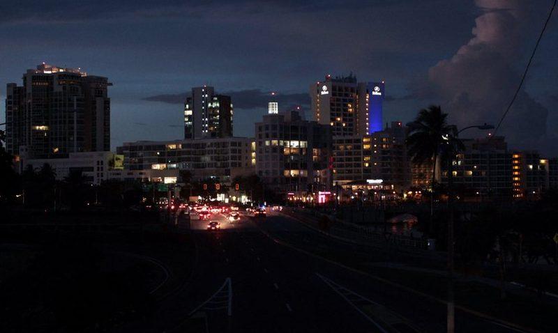 Esperan restablecer electricidad en todo Puerto Rico este viernes