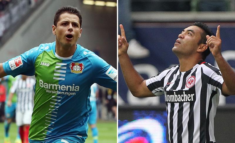 Chicharito y Marco Fabián en la Bundesliga: Horarios y canales de sus partidos en la Fecha 7