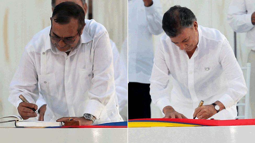 5 momentos especiales de la firma del acuerdo de paz entre gobierno y las FARC