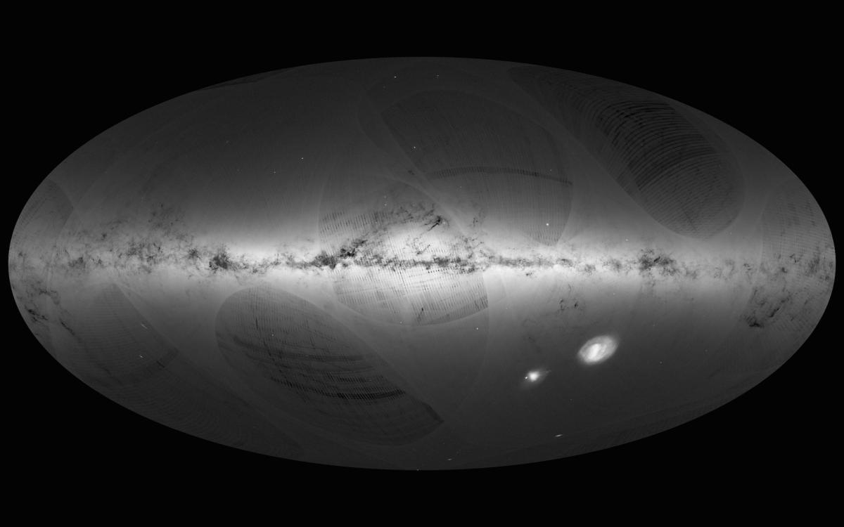 Por primera vez, Gaia nos da una imagen completa de la Vía Láctea (video)
