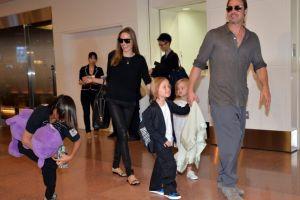 Shiloh, hija de Angelina Jolie, se escapó de su casa para ir a ver a Brad Pitt