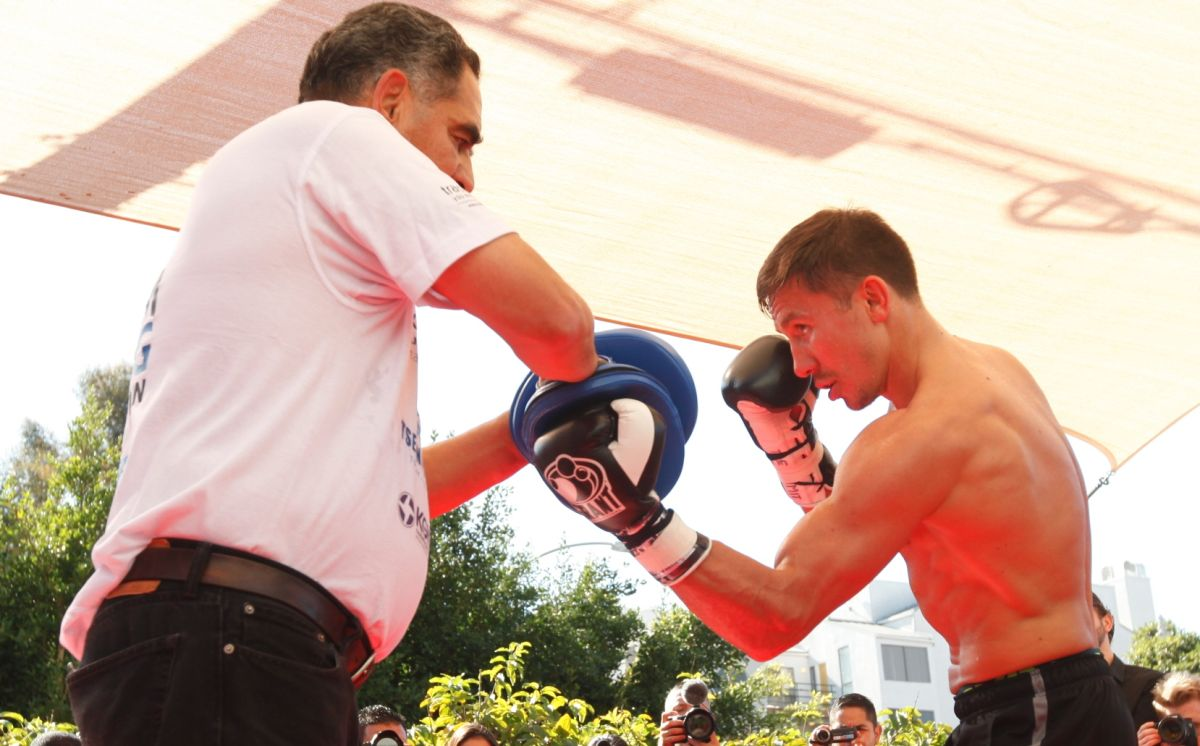 Entrenador de Golovkin habló de la oferta de $10 millones para pelear con Canelo