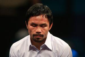 Manny Pacquiao tiene el corazón roto luego de que su perro fuera atropellado