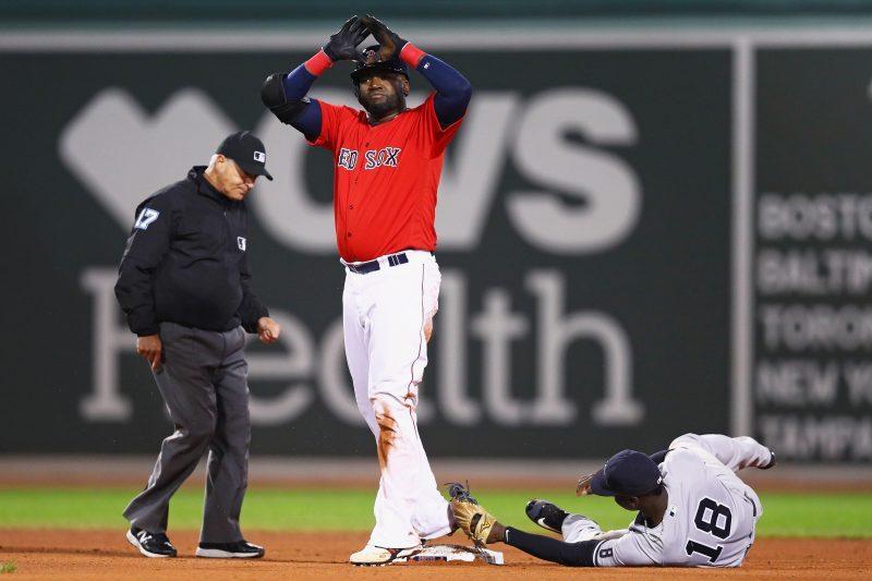 Los Medias Rojas les cortaron las piernas a los Yankees durante el fin de semana