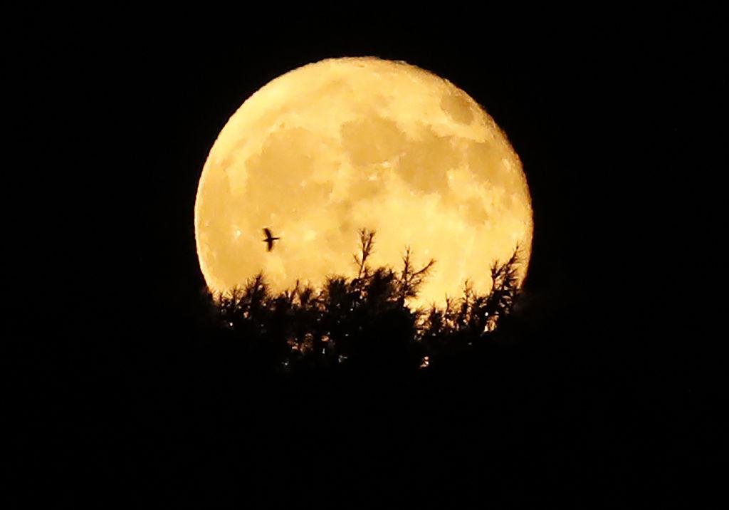 La luna de la cosecha es la más próxima al equinoccio de otoño.