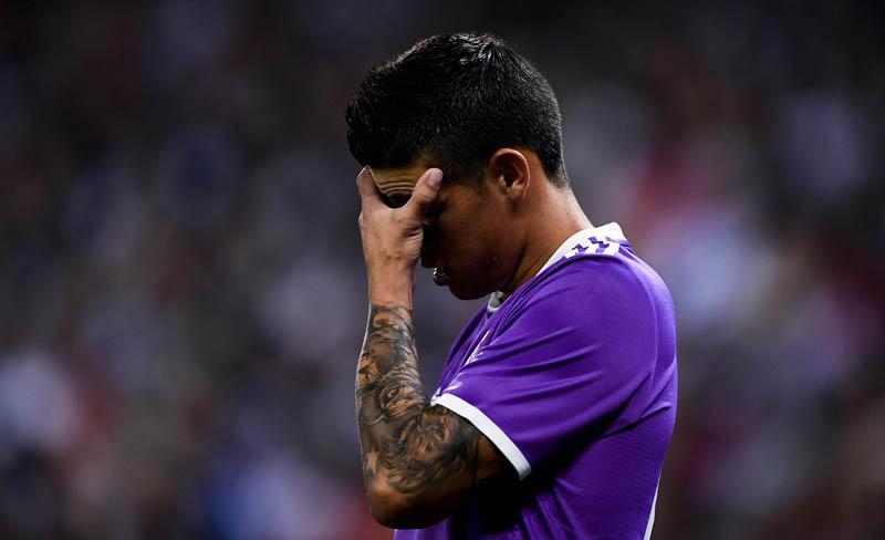 """La paciencia de James Rodríguez se agota y el Manchester United le hace """"ojitos"""""""