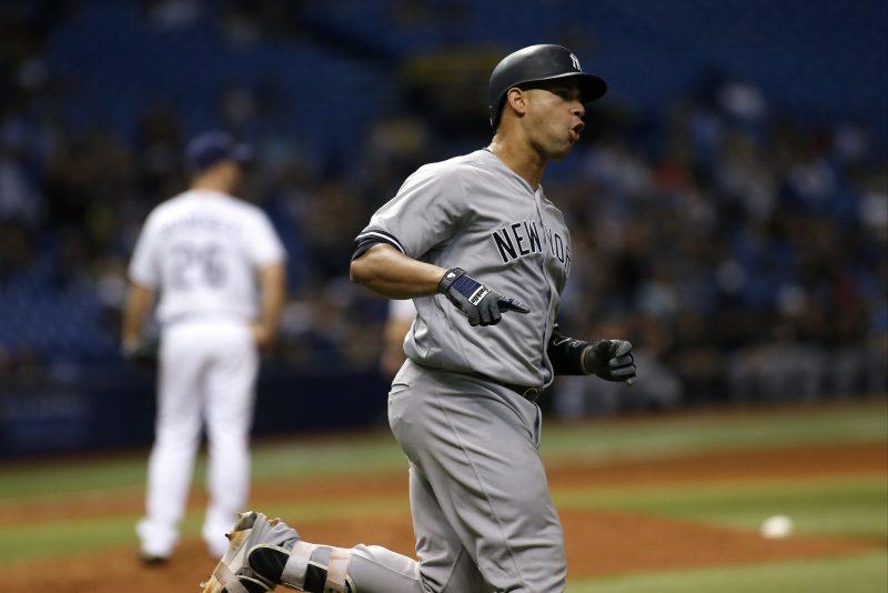 Este dominicano debutó con los Yankees el 1 de agosto y desde entonces ha bateado ¡19 jonrones!