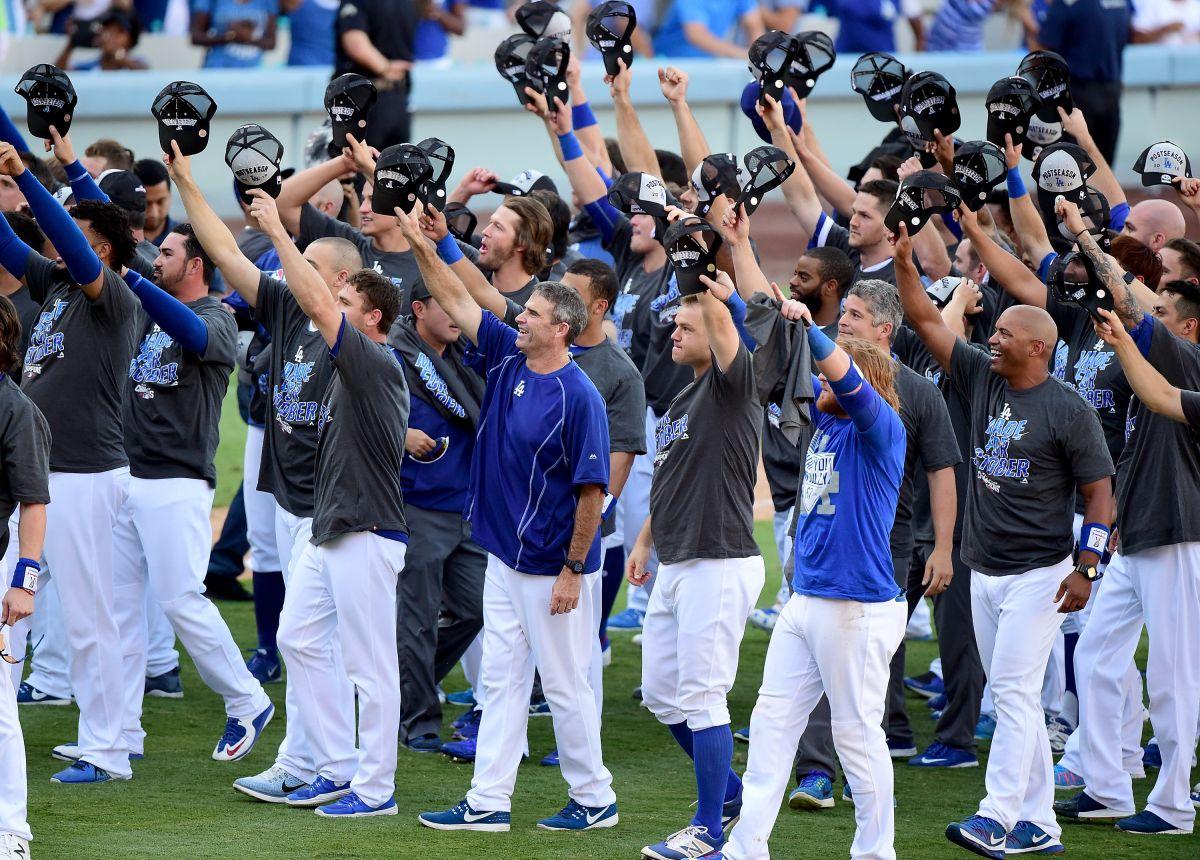 Final a lo Hollywood: Dodgers ganan el título divisional con jonrón de un desconocido