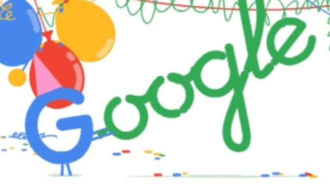 ¿Ya viste cómo Google está celebrando su cumpleaños?