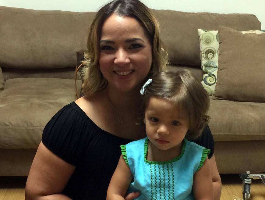 Adamari López ya lleva a Alaïa a la escuela: 'Me salí del salón a llorar'