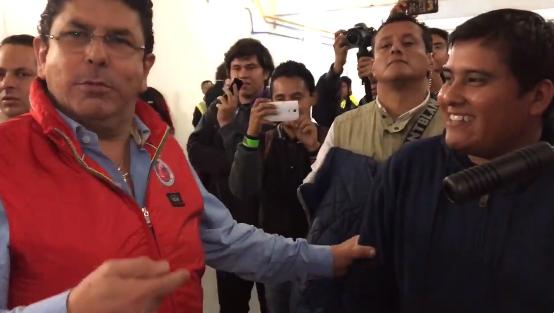 """Fidel Kuri, dueño del Veracruz, insultó a un reportero: """"No tienes huevos"""""""