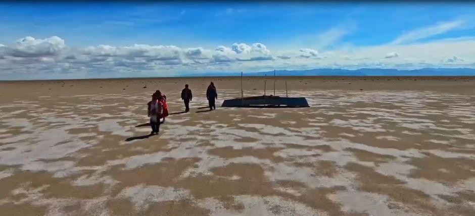 Video: El enorme lago que el cambio climático hizo desaparecer