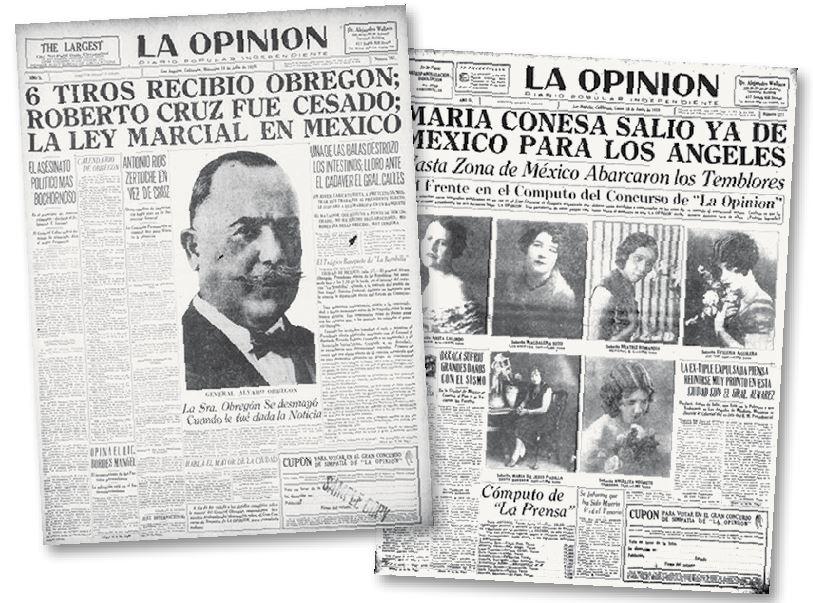 ¿Cómo era La Opinión 90 años atrás?