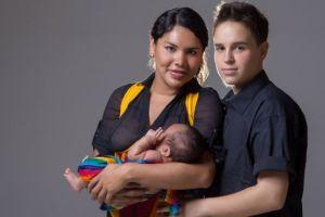 Diane y Fernando, la pareja de transexuales de Ecuador en la que el padre dio a luz