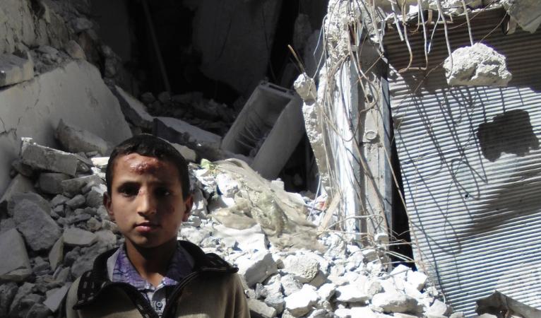 """""""Día negro"""" en Alepo tras muerte de 106 niños en bombardeos"""