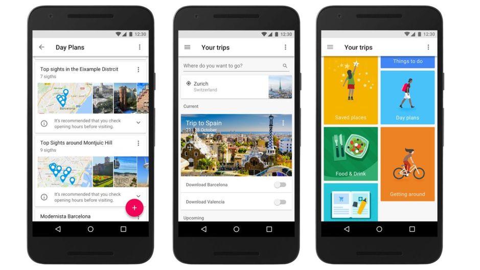 Google Trips, la app que planea los detalles de tus vacaciones