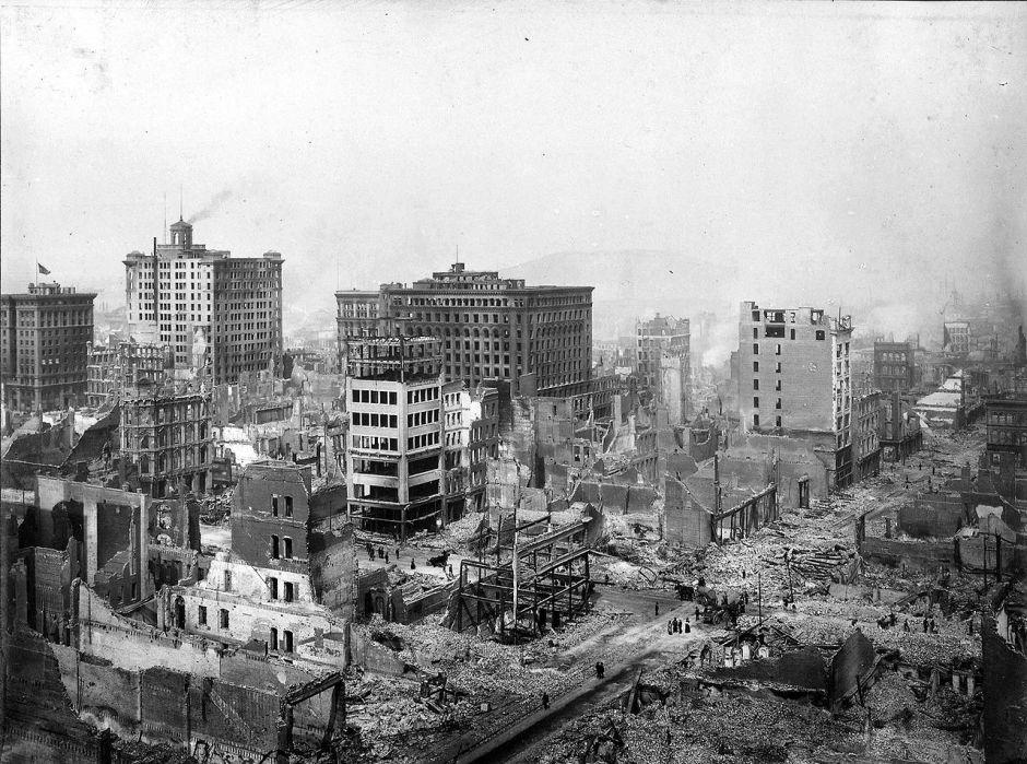 """""""No estamos preparados ni de lejos para otro sismo como el de 1906 en San Francisco"""""""
