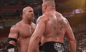 Goldberg prepara regreso a la WWE y enfrentaría a Brock Lesnar