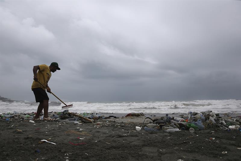 Torrenciales lluvias en Dominicana