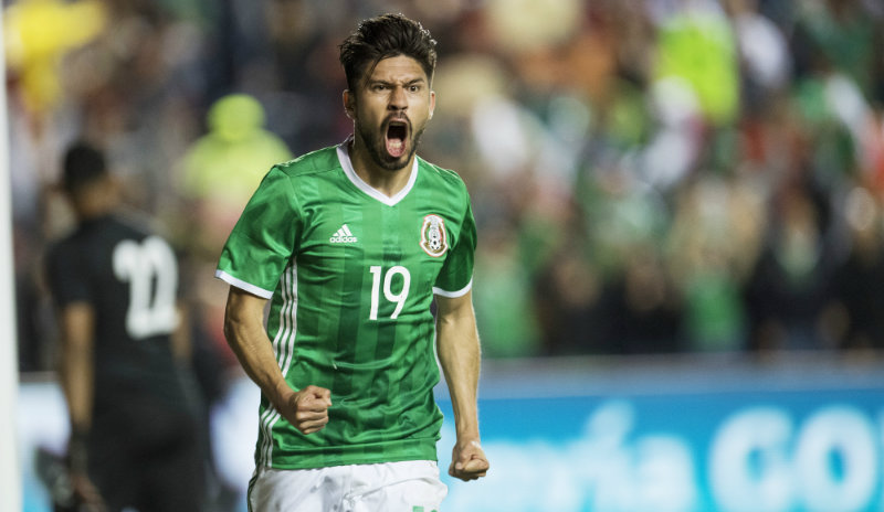 El jugador del América registra 24 goles en total con la selección mexicana.