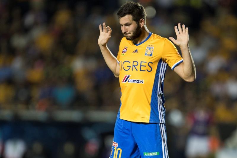 Andre-Pierre Gignac no ve llegar su suerte por estos días en la Liga MX.