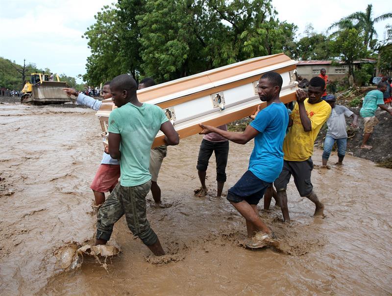 El gobierno declaró estado de catástrofe.