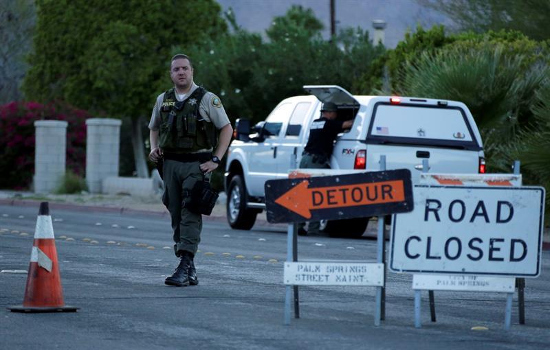Dos policías muertos y uno herido fue el saldo por el tiroteo en Palm Springs