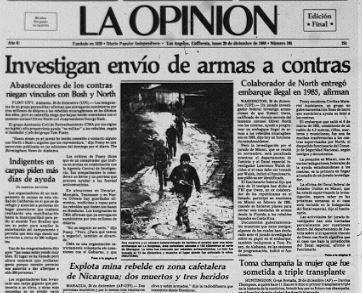 1986-1996: década de disturbios sociales que aún persisten