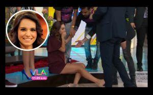 ¿Tania Rincón dejará 'Venga la Alegría y Anette Michelle será su reemplazo?