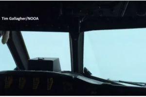 Video: ¿Qué pasó con este avión que se metió al ojo del huracán Matthew?