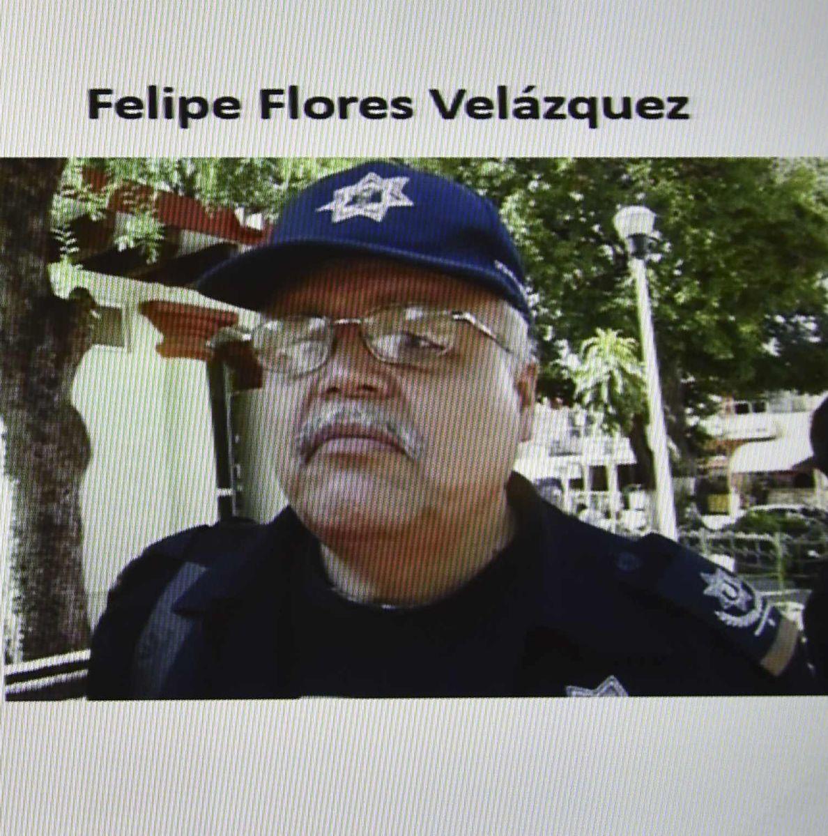 Felipe Flores en una imagen tomada de una pantalla durante una rueda de prensa sobre el caso Ayotzinapa.