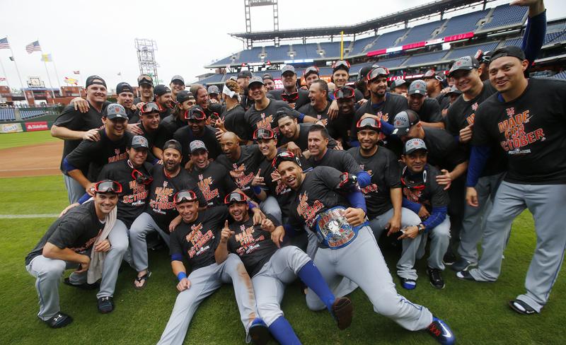 Los Mets vencieron a los Filis y avanzaron a los playoffs.