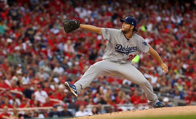 Clayton Kershaw iniciará este martes en el duelo crucial de los Dodgers.