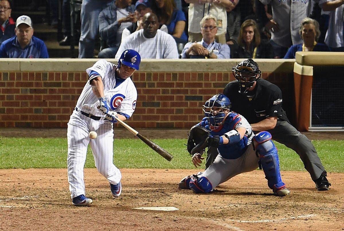 Montero destrozó la esperanza de los Dodgers en el Juego 1 ante los Cubs