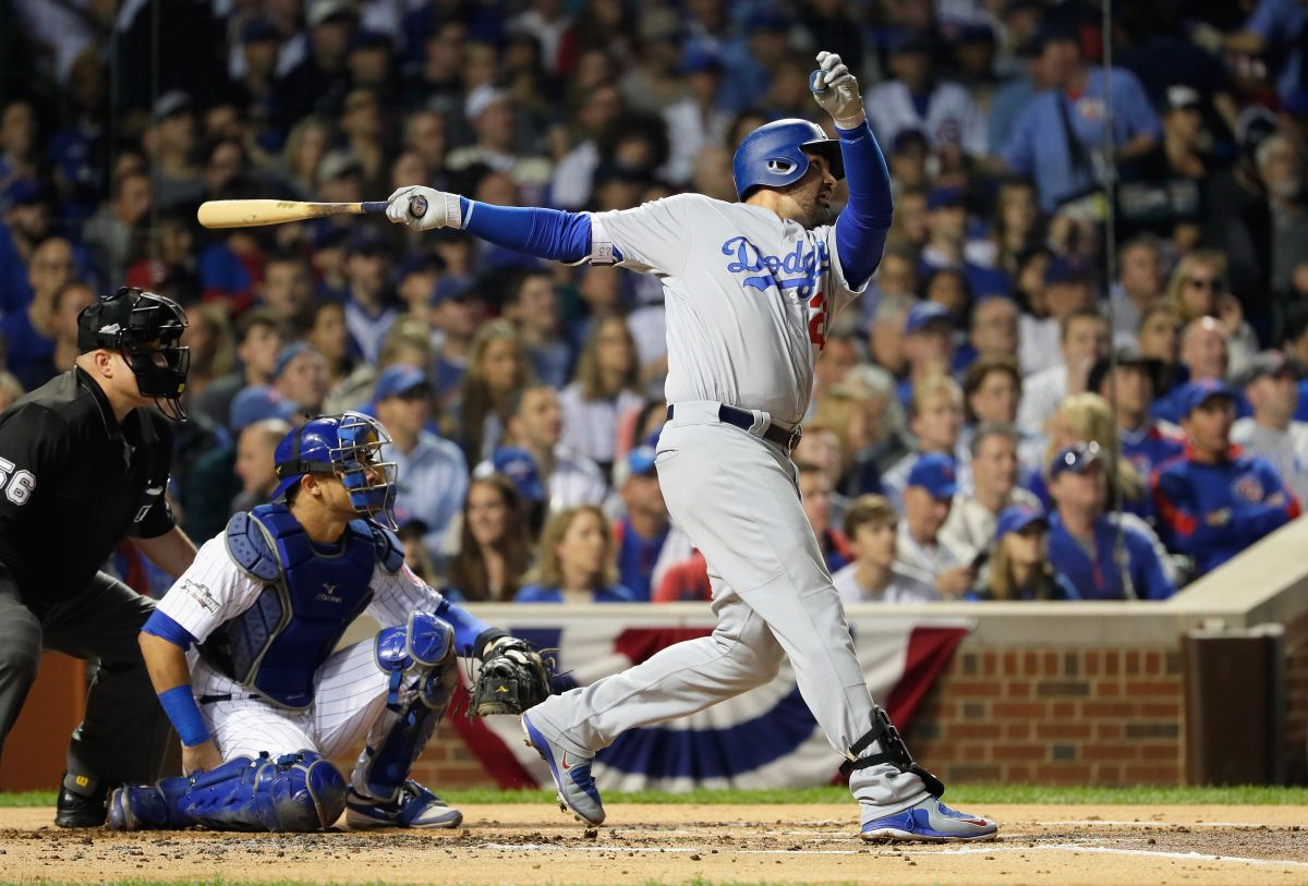 Adrián González despertó a buena hora con los Dodgers