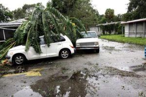 EN VIDEO: El impacto del huracán Matthew en Florida