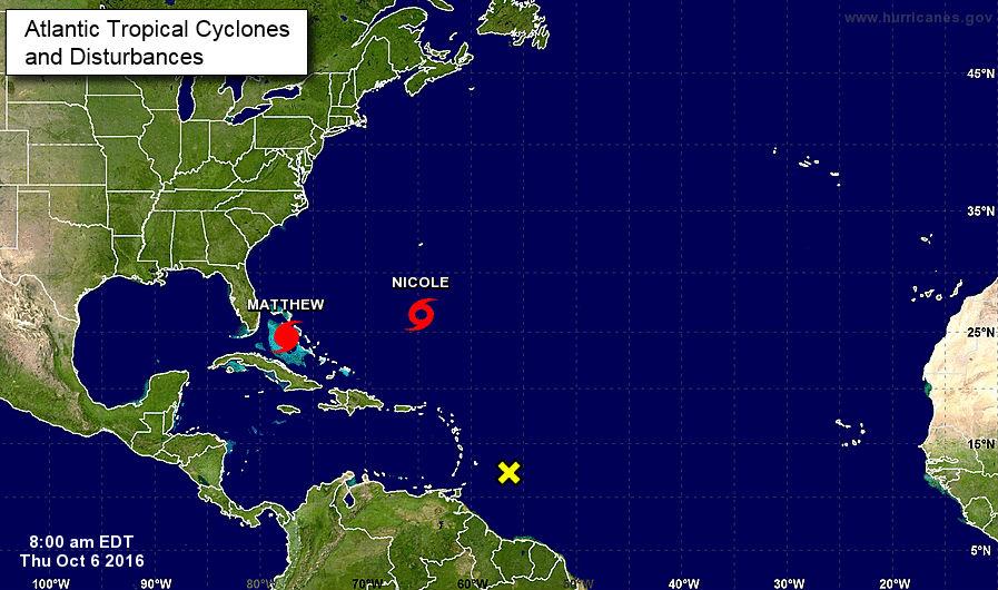 Se encamina hacia Florida.