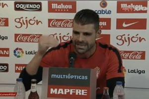 Video: Portero del Sporting de Gijón explota e insulta a periodista por una información falsa
