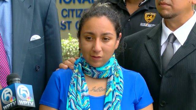 Jasmine Abuslin fue la víctima en el centro de un escándalo sexual que ha implicado a docenas de policías.