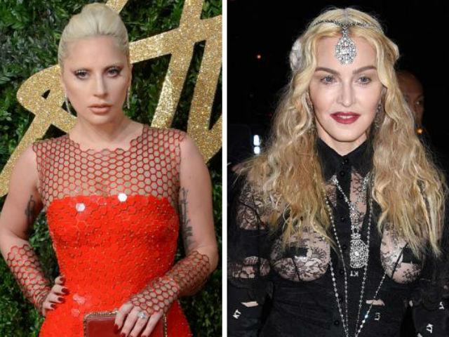 Lady Gaga y Madonna.