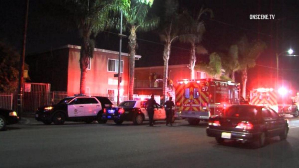 El tiroteo se reportó en el sur de Los Ángeles.