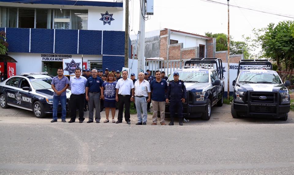 Policía Municipal de Chiapa de Corzo.