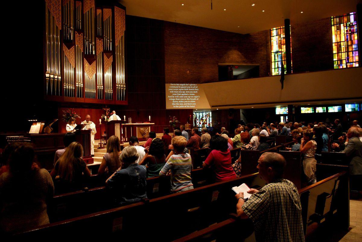 Desconocidos prendieron fuego a una iglesia de la comunidad afroamericana en Greenville.