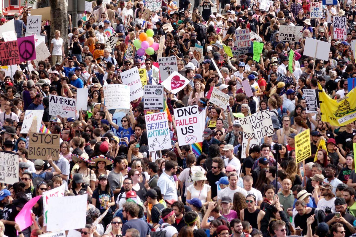 Protestas y contagios de coronavirus