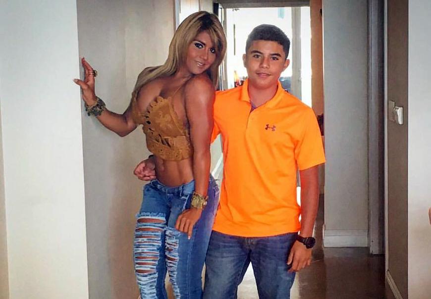 Maripily Rivera junto a su hijo Joe Joe