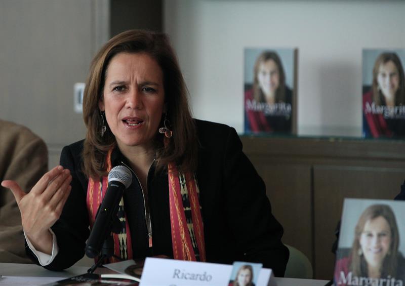 Margarita Zavala asegura que México está preparado para una presidenta